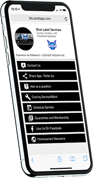 Blue Label Services app